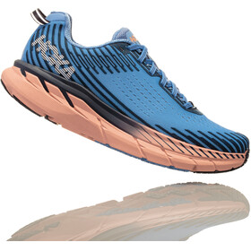 Hoka One One Clifton 5 Running Shoes Women blue